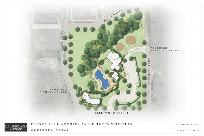 Tucker Hill Residents' Club and Fitness Center Site Plan 12-14-2015