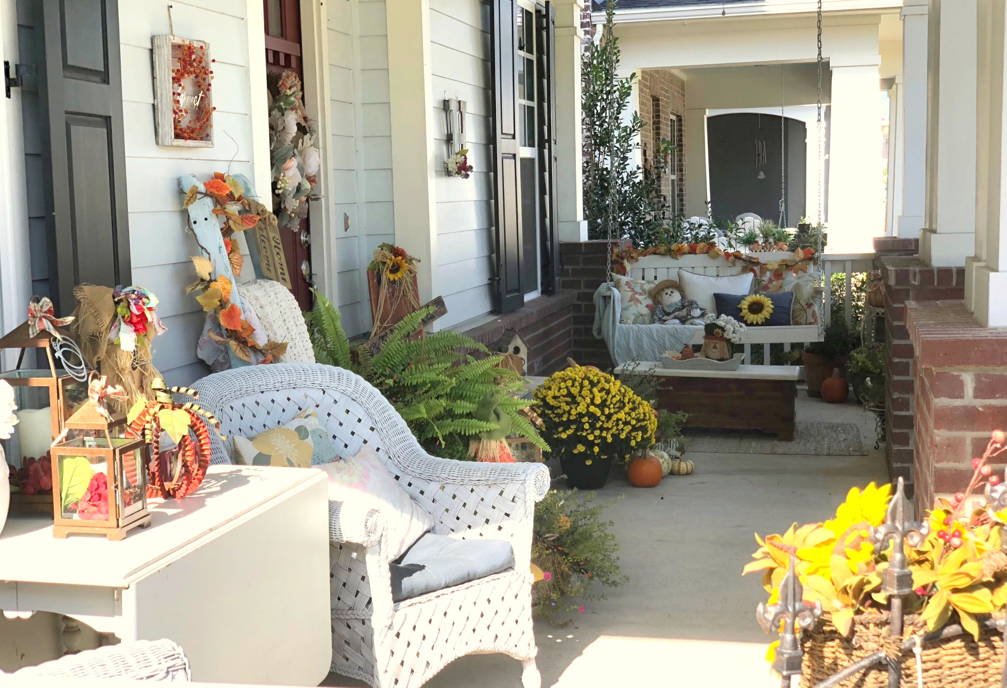2018 fall & halloween porch decor winners - tucker hill, mckinney